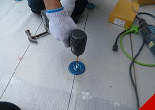 塩化ビニール防水工事